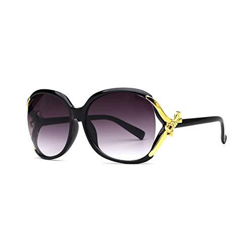 TYD.L Sonnenbrille 95001 Hochwertige Materialien Frauen Eleganz Schmetterling Knoten UV400 Anti-UV Polarisierte Sonnenbrille Für Fahren/Reisen/Outdoor 7 Farben (Farbe : 01)
