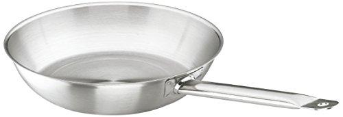 Lacor Chef 51624 - Sartén inoxidable, 24 cm, gris