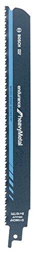 BOSCH 2 608 657 526  - HOJA DE SIERRA SABLE S 1136 CHF - ENDURANCE FOR HEAVY METAL (PACK DE 5)