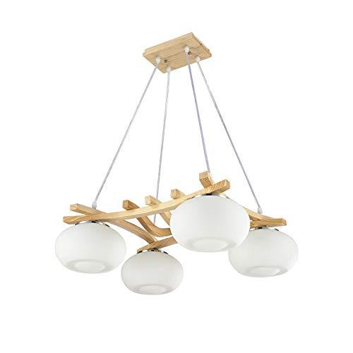 YLCJ Sólido de madera Minimalista Moderno Chino Creativo Comedor ...
