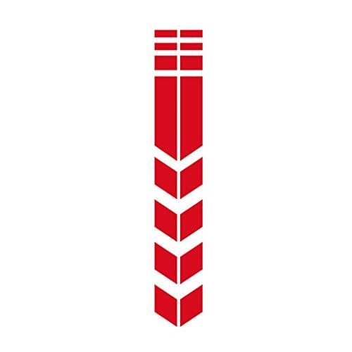 Pwtchenty Autoaufkleber Sticker Autoaufkleber wasserdichte Auto Aufkleber Kotflügel Aufkleber Modifiziert Dekorative Auto Aufkleber Selbst Gestalten