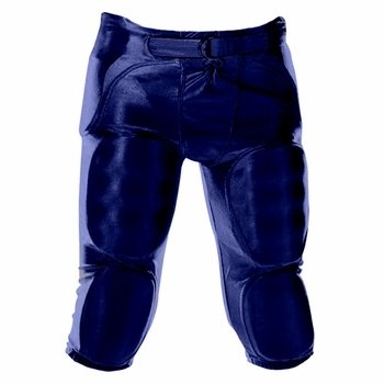 Youth Dazzle Football Pants W/Pads (EA), Ragazzi ragazza, Navy