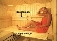 Sauna Ausstatung Komfortpaket 2