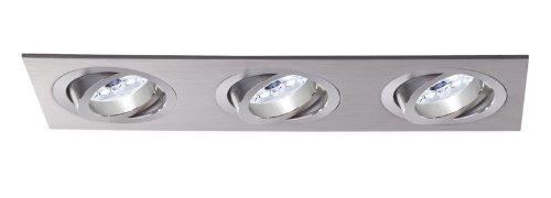 Empotrable Aluminio Cuadrado 3 L Basculante (Halógeno o LED)