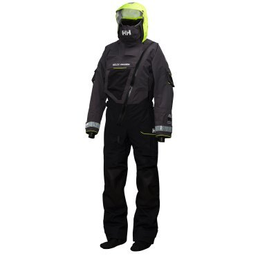 Helly Hansen Herren Tauchanzug Aegir Ocean Survival Suit, Ebony, M, 31706