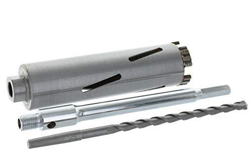 Diamant Bohrkrone Sechskant lang (200mm) Aufnahme und Zentrierbohrer Nutzlänge 180 mm Ø 42 mm Betonbohrkrone Kernbohrer