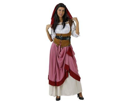 Atosa - 97137 - Costume - Déguisement De Jeune Fille Médiévale Adulte - Taille 3