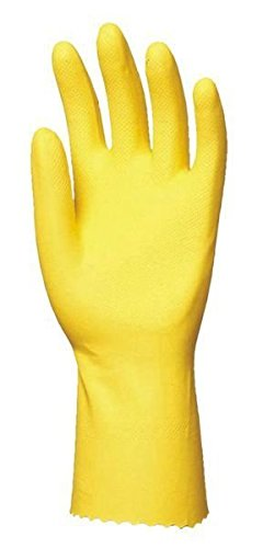 Euro Protection 5029 Super 5000 Paire de Gants Latex ménage T9 Jaune