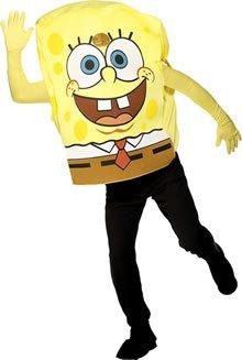 Erwachsenen-Kostüm SpongeBob - -