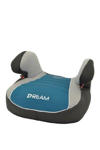 Osann Kinderautositz Autositzerhöhung Booster Dream Plus Agora Petrol türkis blau grün, 15 bis 36 kg, ECE Gruppe 2 / 3, von ca. 3 bis 12 Jahre, mit integrierter Gurtführung und bequemen Armlehnen