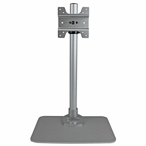 StarTech.com Support de bureau pour écran - Support moniteur VESA - Bras d'écran réglable pour bureau - Gestion de câbles - Argent