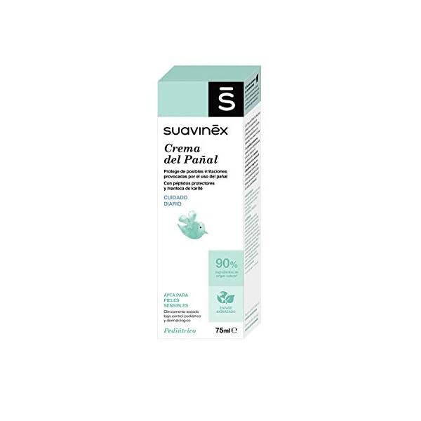 Suavinex Crema del Pañal para Bebés para Pieles Sensibles, 75ml