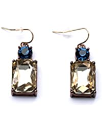 Femnmas Gold Plated Estelle Gold Plated Stud Earring Jewellery Set|Earing In Golden Colour Ladies Women Tops Jewelry...