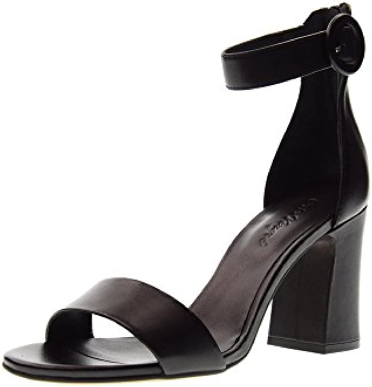 Cris VERGRE' Zapatos Mujer Sandalias de Tacón H6106X Negro