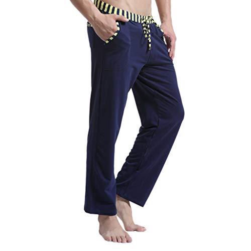 Denim-gestreifte Strumpfhose (Setsail Herren Gestreifte Träger Sommer Atmungsaktive Mode Sport Hosen Lässige Jogginghose)