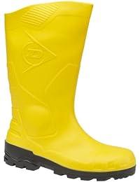 Bottes Dunlop Devon (jaune) unisexe