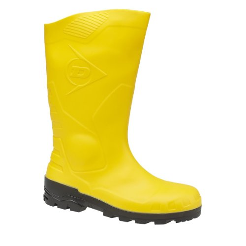 Bottes Dunlop Devon (jaune) unisexe Jaune