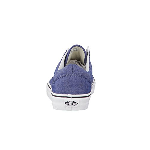 Vans Ua Old Skool, Sneakers Basses Homme C And L Chambray Blue