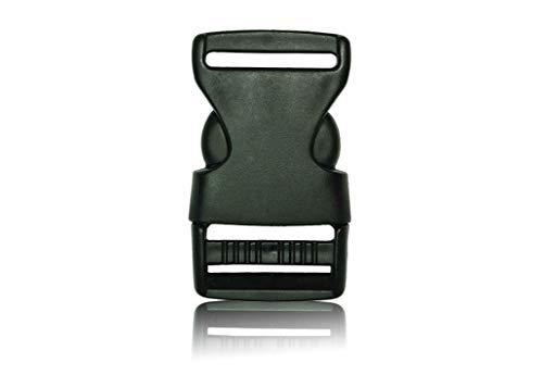 Schnalle- Double Side Release Schnallen Clips- Steckverschluss 1X30MM - Steckverschluss, Kunststoff Klickverschluss, Klippverschluss, Steckschnalle, Ersatzschnalle, Klippverschlüsse für Rucksack