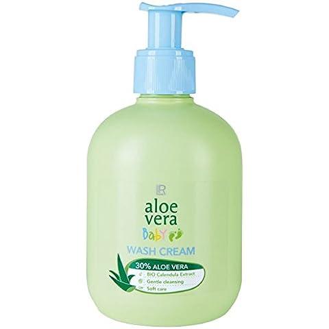 LR Aloe Vera Baby Crema 250ml (4,80& # x20AC; Pro 100ml di lavaggio)