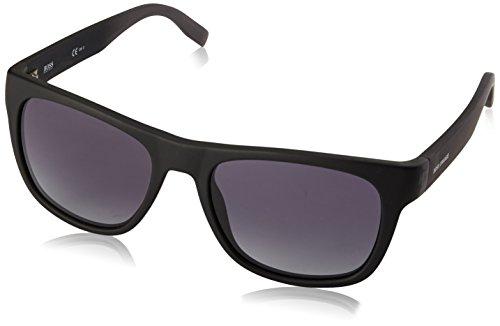 BOSS Orange Unisex-Adults 0249/S Hd Sunglasses, Black, 53 mm