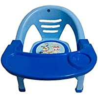 Nabhya Small Baby Chair with Front Food and Safety Tray (Multi-Color) (Blue)