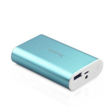 Generic 6000 MAh Power Bank (Sky Blue, S3)