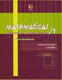 Matemáticas aplicadas a las Ciencias Sociales/1-1º Bachillerato - 9788426811431