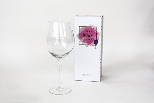Gläser Riesige Wein (Gift Republic GIANT Wein Glas, Multi, 11x 11x 27cm)