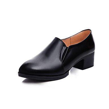 Rtry Femme Chaussures À Talons Formelle Chaussures Véritable Cuir Printemps / Automne Bureau & Amp; Chaussures De Carrière Formel Chunky Talon Noir 2a-2 3 / 4in Noir Us8.5 / Eu39 / Uk6.5 / Cn40 Us6.5-7 / Eu37 / Uk4.5-5 / Cn37