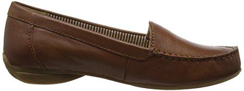 Gabor Columbia, Mocassins (loafers) femme Marron - Marron (cuir marron)