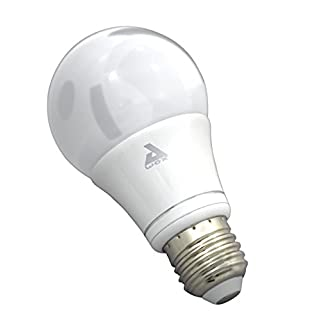 AWOX + New Smart White LED Bulb with Bluetooth Control (E27/13W), Acryl E27, 13 W
