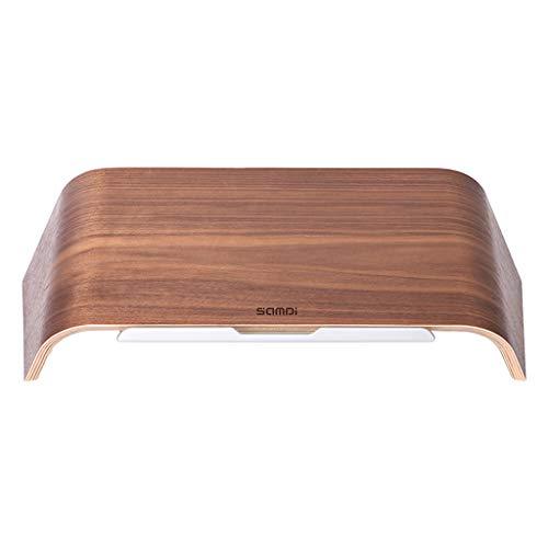 Universal-tisch-basen (Notebookkühler Silent Laptop kühler gerät läuft- Holz Laptop Tilt Bracket Heizkörper Base/Tisch, Stilvolle Retro-Kombination - Universal)