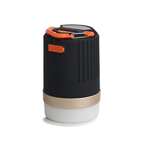 Funsport lIGHT-Portable Ultra Bright LED Lanterne de camping & 10400mAh Power Bank, 440Lumens IP65étanche et rechargeable Camping lantern- Best pour randonnée Camping