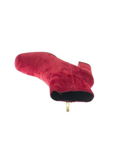 BRUNO PREMI I3000P BOOTY rosse tacco CAMOSCIO 39 Rosso