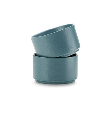 Noritake 9-Ounce Colorwave Ramekin, 3-3/4-Inch, Turquoise Blue, Set of