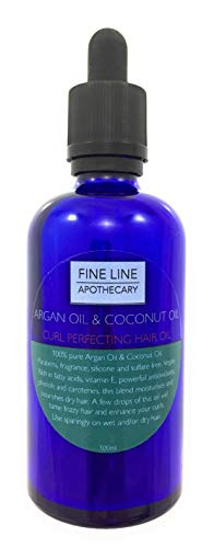 Curl Perfecting mezcla de aceite de coco y aceite de argán 100ml po
