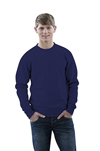 JH030 Sweater Sweatshirt Sweat Sweater Pullover Oxford Navy