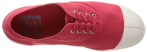 Bensimon Tennis, Baskets Basses Femme Rouge (Rouge 310)