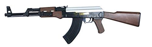 MH 21464 fusil d'assaut à billes style AK47 à Ressort / ABS / Rechargement Manuel (0.5 joule)
