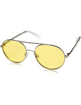 D. Franklin Eagle, Gafas de Sol Unisex, Amarillo, 52