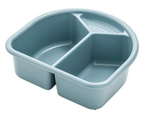 Rotho Babydesign Waschschüssel, 4l, Ab 0 Monate, TOP/Bella Bambina, Lagoon (Blau), 20006 0292