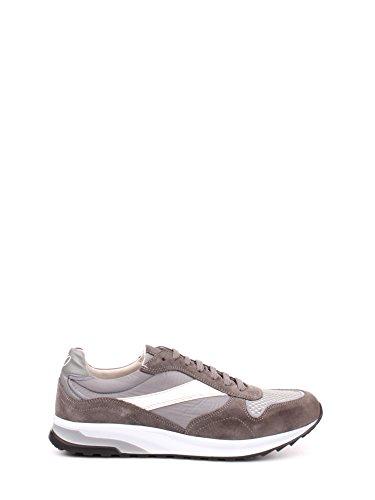 Soldini 19843 Sneakers Uomo Tess+camoscio Grigio Grigio 44