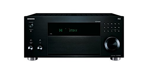 Onkyo TX-RZ3100 11.2-Kanal-Netzwerk-AV-Receiver (200 W/Kanal, Dolby Atmos und DTS:X, Bluetooth, WLAN, Streaming, Musik Apps wie Spotify u.a., Chromecast, FlareConnect) Schwarz - Netzwerk Av-receiver