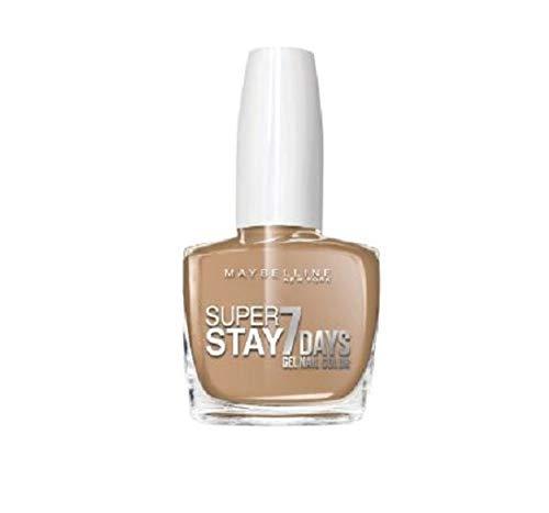 Maybelline New York esmalte efecto gel, Superstay 7Days, colección unnude Dai tonos pastel, 897Driver, 3paquetes