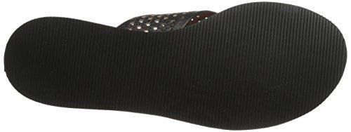 Lucky Brand Dadeen 2 Leder Sandale Black