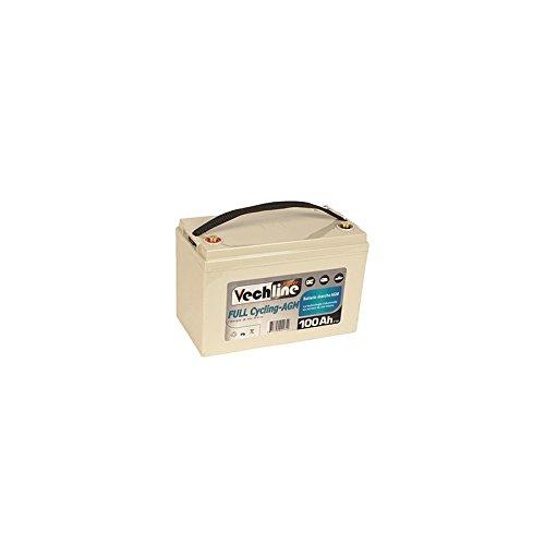 VECHLINE Batteria AGM Camper 110Ah 12V ERMETICA Servizi So