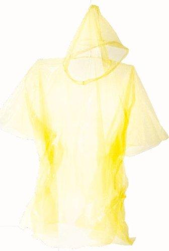 Regenponcho Kinder Universalgröße gelb - Idena