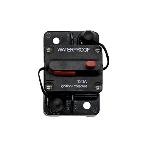 Vosarea 120A imprägniern Hohen Amp Schaltbare Flush-Mount-Leistungsschalter (schwarz) -