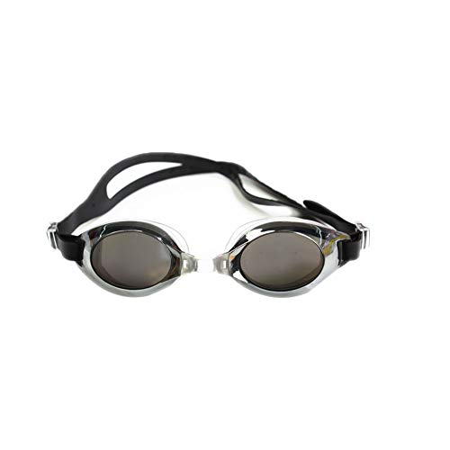 Domire 1 PC Unisex Schwimmbrille wasserdichte Schutzbrille Bunte Brille Erwachsener Kind Schwimmzubehör (zufällige Farbe)